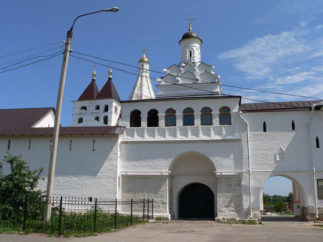 Храм Федора Анкирского Владычного монастыря
