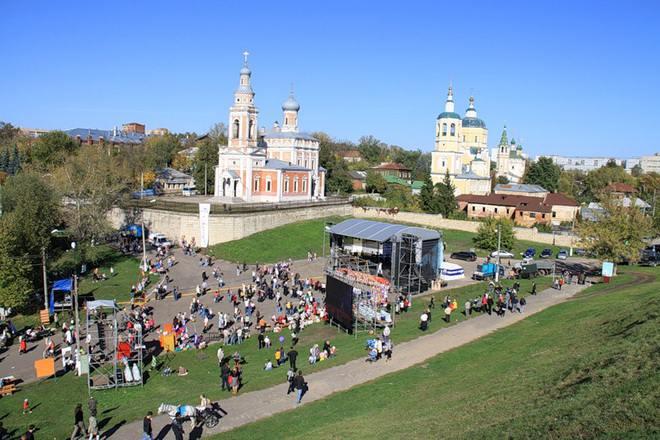 Соборная гора в Серпухове