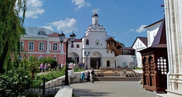 Владычный монастырь сегодня