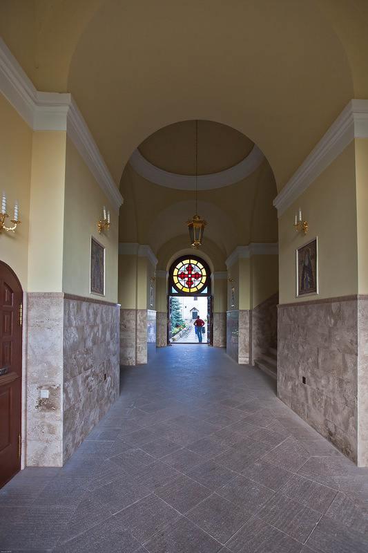 Высоцкий монастырь изнутри
